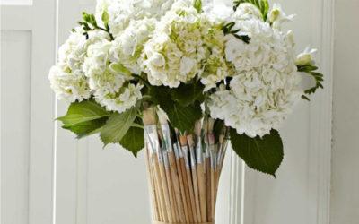 Stylová váza na květiny
