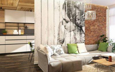 Dřevěný panel na zeď s Vašim jedinečným designem
