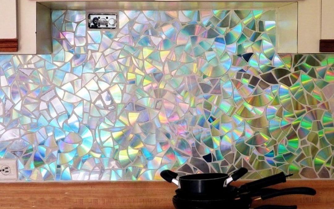 Úspěšný nápad využití starých CD disků v kuchyni